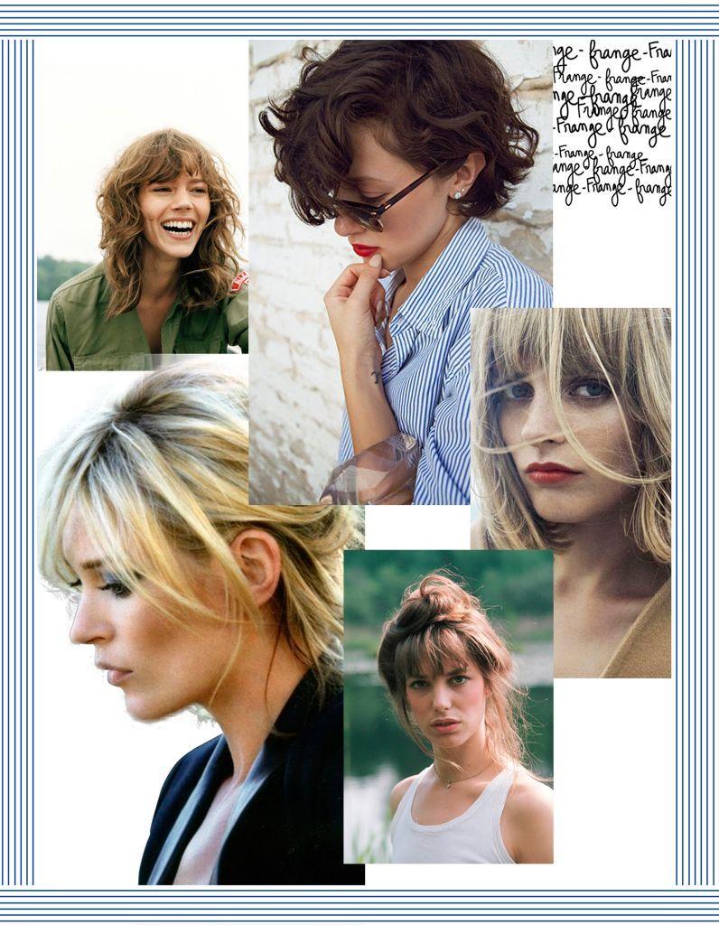 30 idées de coiffure avec frange pour un look qui change !
