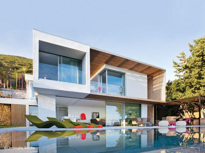 Une maison de vacances design saint tropez elle d coration - Maison de vacances christopher design ...