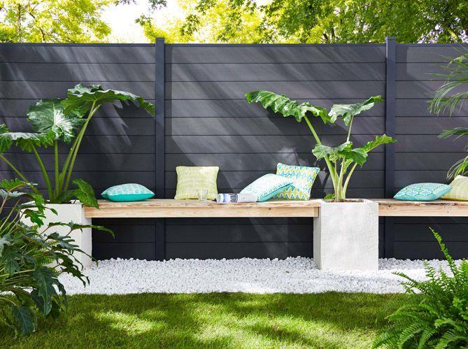 30 id es d co pour am nager son jardin elle d coration. Black Bedroom Furniture Sets. Home Design Ideas