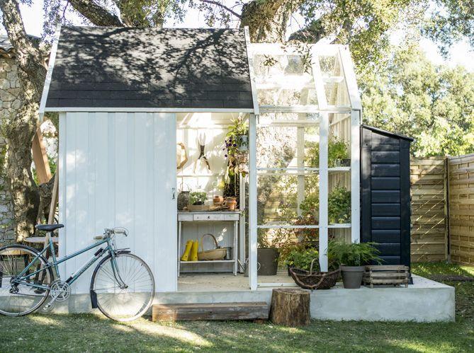 Une Jolie Cabane Pour Mon Jardin  Elle Dcoration
