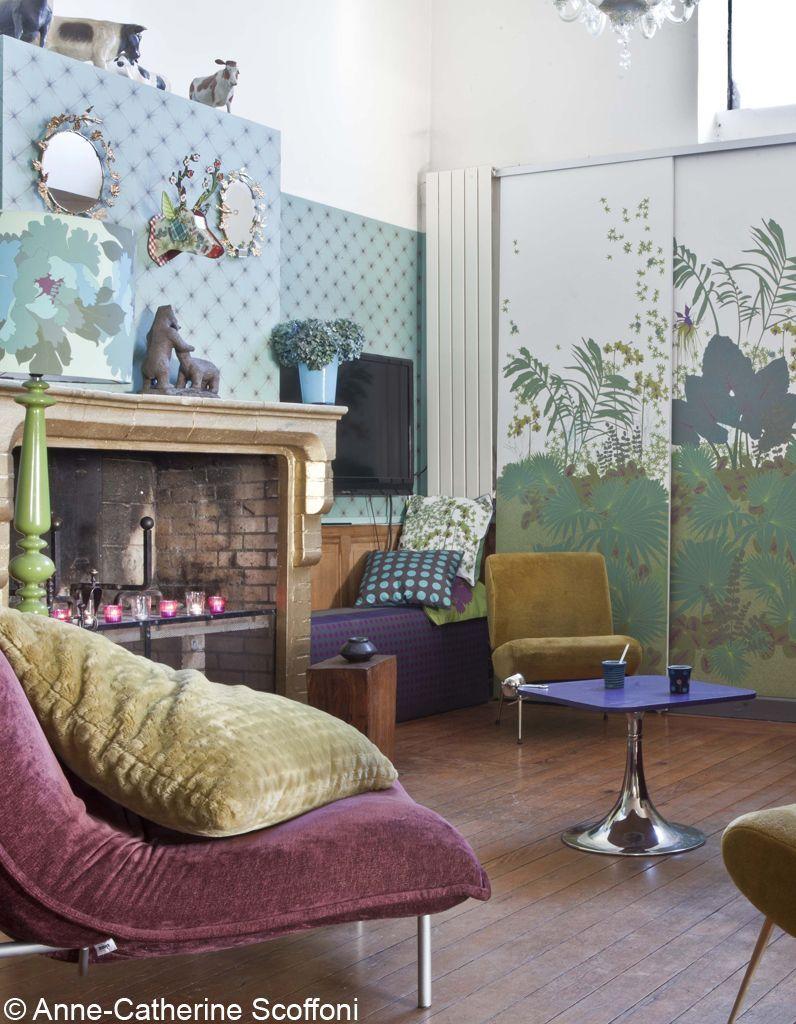 relooking d un atelier d artiste elle d coration. Black Bedroom Furniture Sets. Home Design Ideas