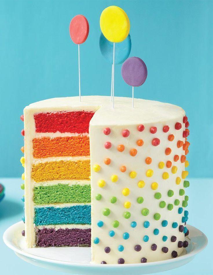 Rainbow cake, les créations bluffantes de Pinterest