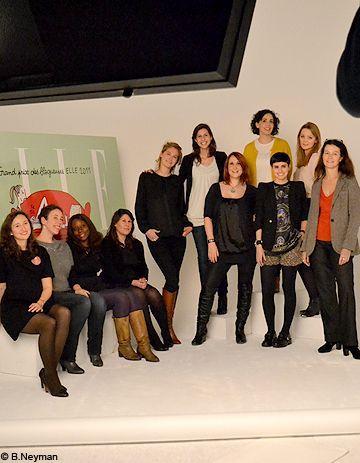 Grand Prix des blogueuses ELLE 2011 : les lauréates aux anges !