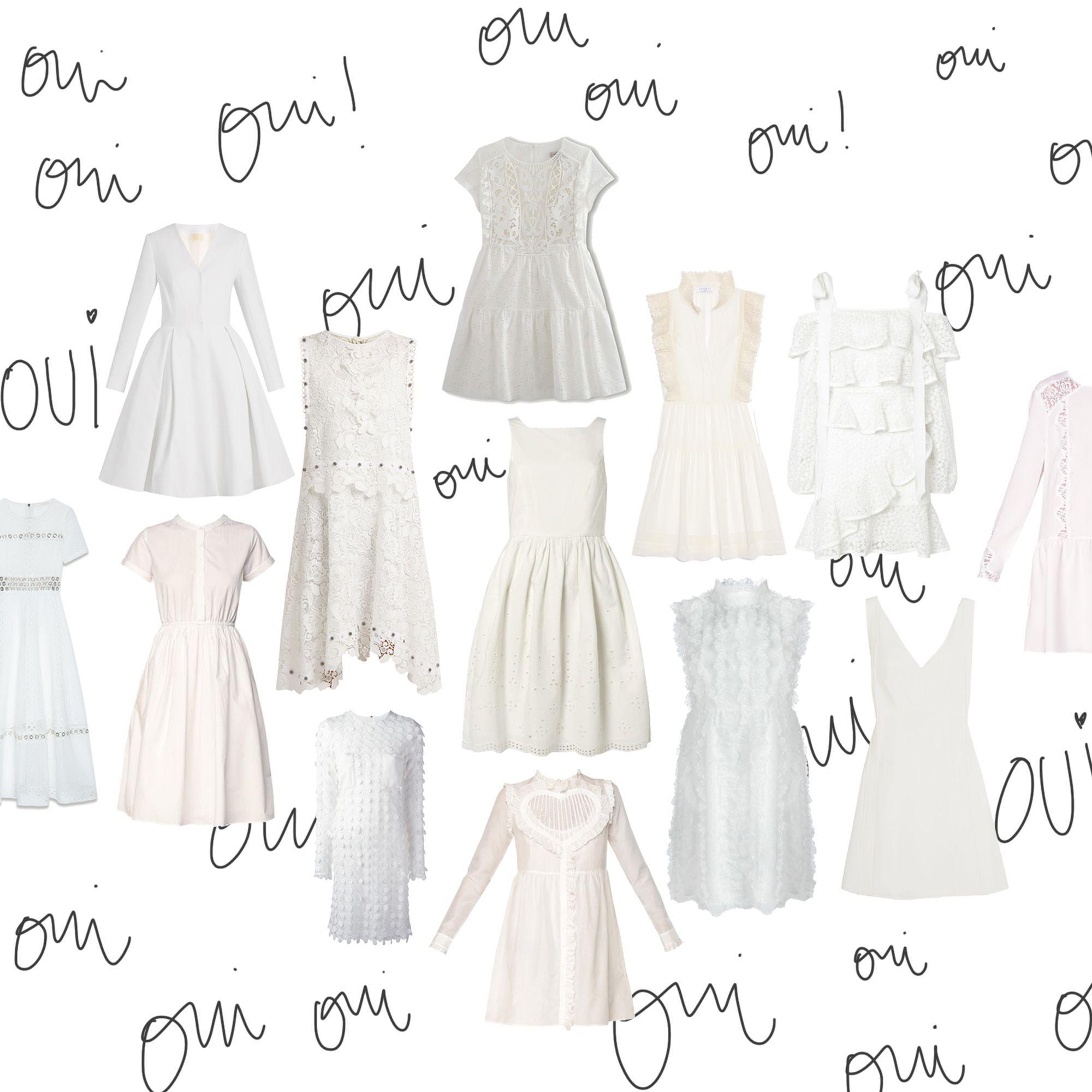 Mariage civil : 20 robes qui font leur petit effet