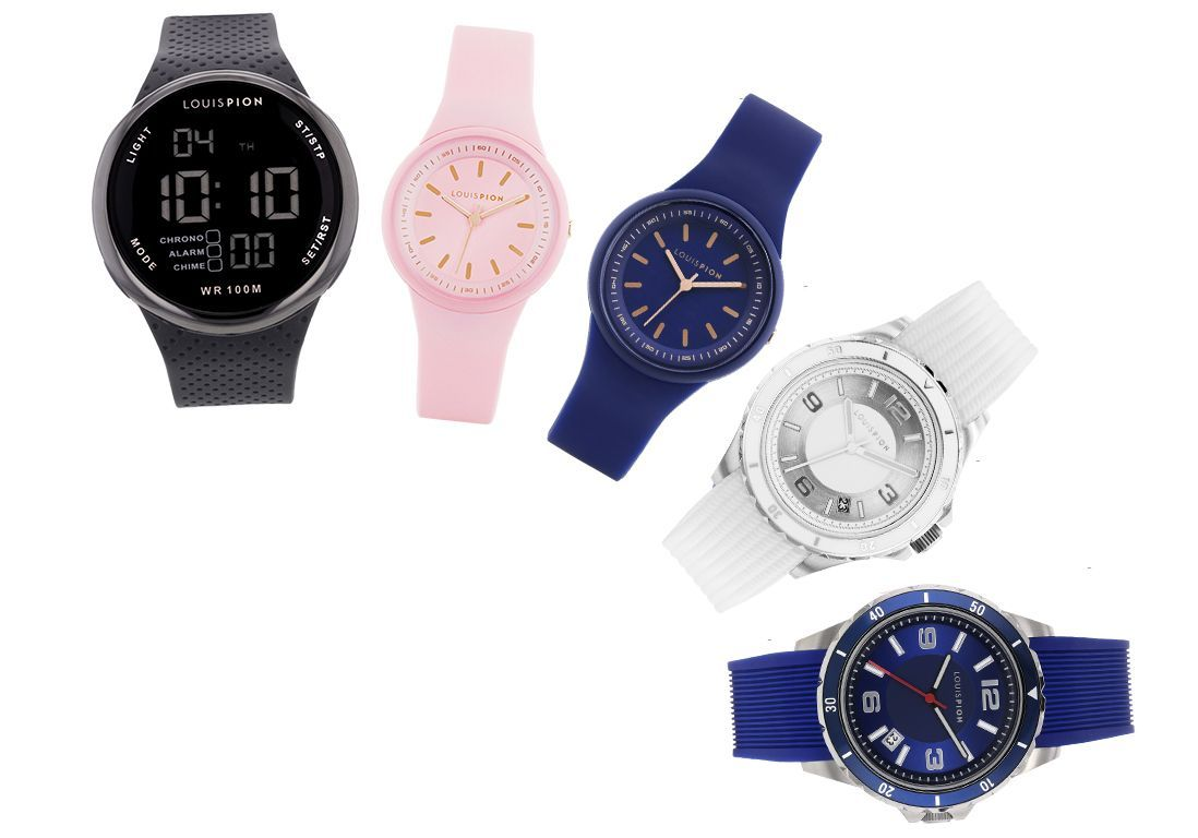 Shopping : 5 montres sportswear à shopper chez Louis Pion