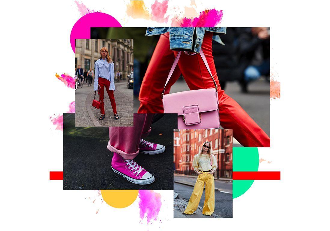 Comment porter un pantalon de couleur sans faire clown