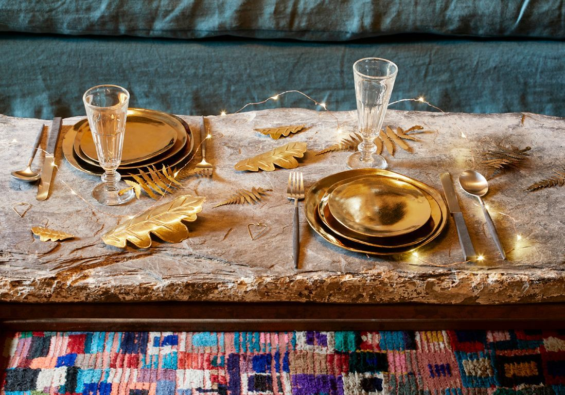 D co de table de no l nos plus belles inspirations elle - Site americain decoration noel ...