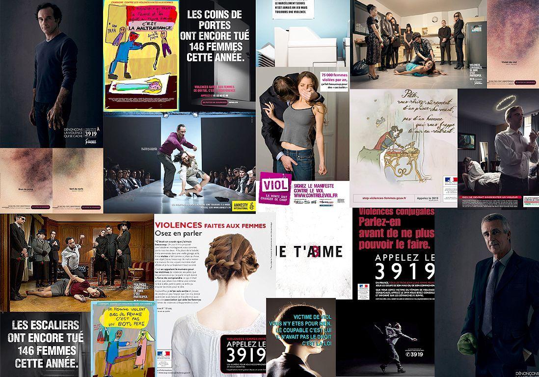 45 affiches pour d noncer les violences faites aux femmes elle. Black Bedroom Furniture Sets. Home Design Ideas
