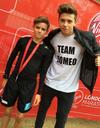 Les Instagram de la semaine: les Beckham au marathon de Londres!