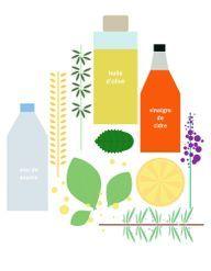 Faciles et économiques : 7 recettes de soins cheveux maison