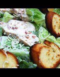 Poulet grill au citron pour 4 personnes recettes elle - Recette salade cesar au poulet grille ...