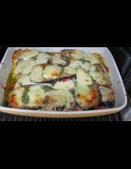 recette éventail aubergines