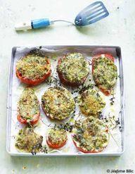 tomates farcies au veau aux herbes et riz pour 6 personnes recettes elle table. Black Bedroom Furniture Sets. Home Design Ideas