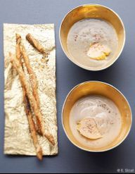 velout au foie gras pour 10 personnes recettes elle table. Black Bedroom Furniture Sets. Home Design Ideas