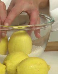 L'atelier des Chefs : préparer des citrons confits au sel