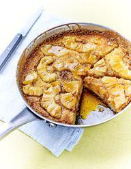 recette gâteau yaourt et ananas