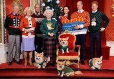 Découvrez Kate, Will, Harry et la reine en pull de Noël