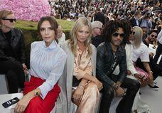 Victoria Beckham, Kate Moss, Lenny Kravitz : rendez-vous VIP au défilé Dior Homme