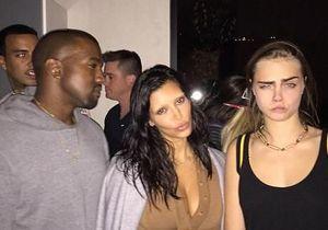 Déroutant : les sourcils décolorés de Kim Kardashian