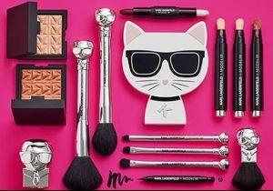 Karl Lagerfeld signe une collection de maquillage déjantée avec ModelCo