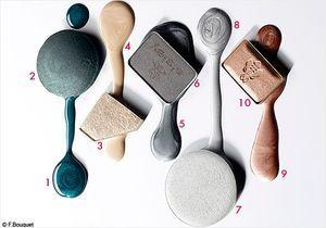 Make-up : vernis et fards jouent le lamé