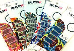 Envie manucure : les motifs pop des stickers Nailpatchme