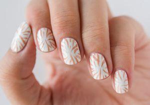 Tuto nail art : le zèbre pastel