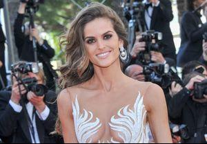 Le sans faute beauté d'Izabel Goulart à Cannes