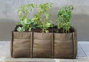 Jardinières pour potager urbain