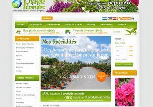 La plus grande pépinière de France ouvre sa boutique en ligne