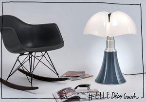 #ELLEDécoCrush : l'iconique lampe Pipistrello passe en mode denim pour l'automne !