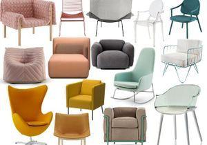 La folie des fauteuils design
