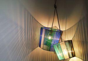 DIY : créez votre lampe scoubidou esprit 50's