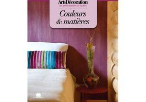 """Livre Art&Décoration : """"Couleurs et matières"""", format poche"""