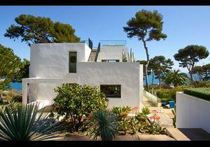Visite privée dans une superbe villa au Cap d'Antibes