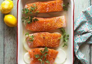 Cuisson saumon