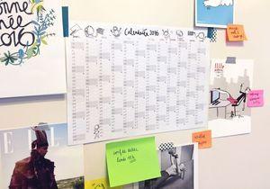 #DIY : Imprimez votre calendrier 2016 pour organiser votre année