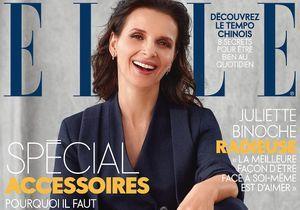 Juliette Binoche en couverture cette semaine