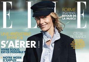 Cécile de France, en couverture de ELLE cette semaine