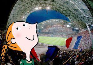J'y étais ! A « France-Allemagne » au Stade Vélodrome