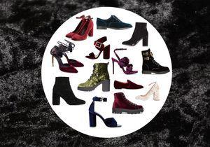 On craque pour des chaussures en velours