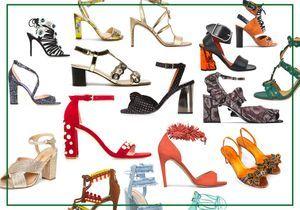 Voici 30 sandales à talons qui affolent les filles cool