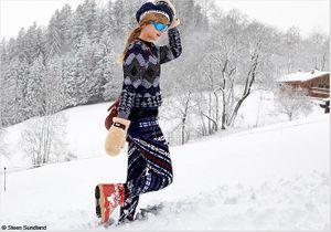 Chic à la montagne : tout ski brille