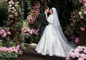 Découvrez quelle créatrice a signé la (sublime) robe de mariée de Miranda Kerr