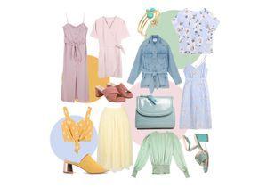 16 pièces pastel pour un été au beau fixe