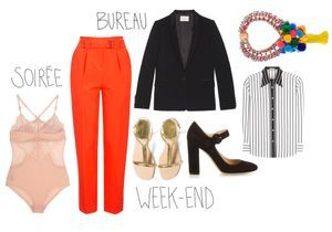 Comment porter un pantalon rouge avec style