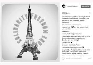 Attaques à Paris : l'hommage des gens de la mode sur Instagram