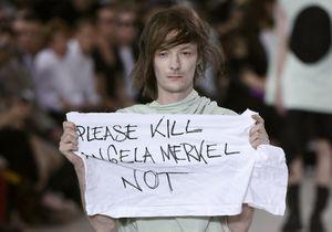 Fashion Week: un mannequin déclenche la polémique chez Rick Owens