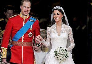 La dentelle de la robe de Kate Middleton fabriquée en France