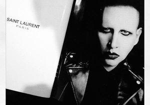 Marilyn Manson, le nouveau visage de Saint Laurent ?
